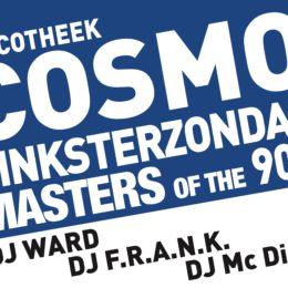 COSMO Pinksterzondag  Guest Dj Ward en Dj F.R.A.N.K  Zondag 20 mei 2018