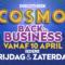 COSMO Back in business vrijdag 10 april