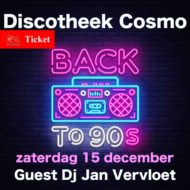 Inkom Ticket Back To 90s  Dj Jan Vervloet